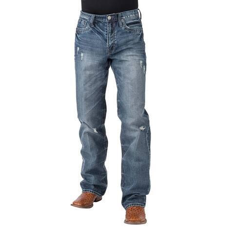 Tin Haul Western Jean Mens Easy Fit Med Wash - Medium Wash
