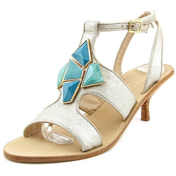 Trina Turk Elsa Open Toe Leather Sandals