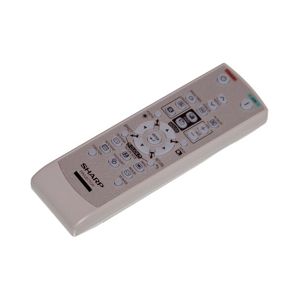 OEM Sharp Remote Control Originally Shipped With PGD3510X & PG-D3510X