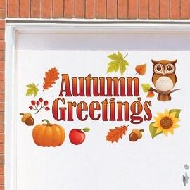 Autumn Greetings Garage Door Magnet
