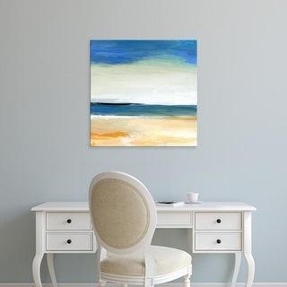 Easy Art Prints Niki Arden's 'Seascape 2' Premium Canvas Art