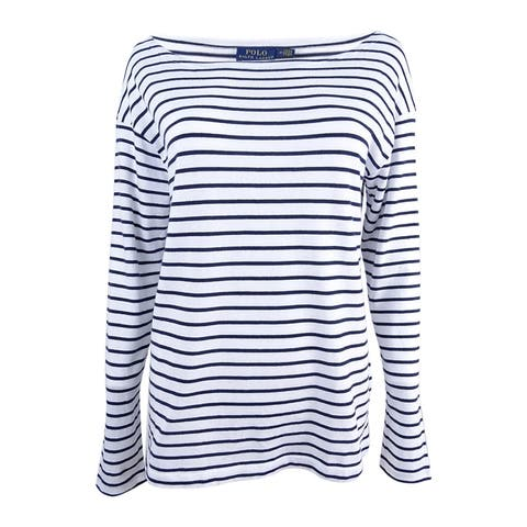 Polo Ralph Lauren Women's Classic-Fit Boat-Neck T-Shirt