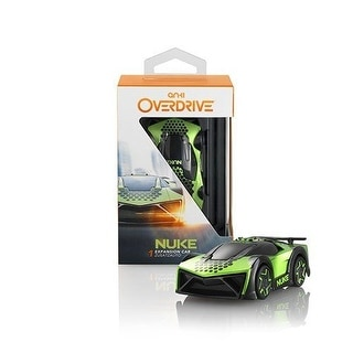 ANKI OVERDRIVE Nuke Expansion CAR TOY, ROBTIC Battle Racing CAR TOY, Black/Green
