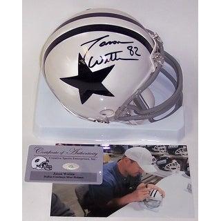 Jason Witten Autographed Hand Signed Cowboys Mini Helmet PSADNA