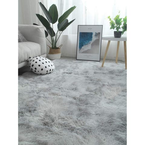 Large Modern Area Rugs Shaggy Fluffy Carpets Suitable for Living Room