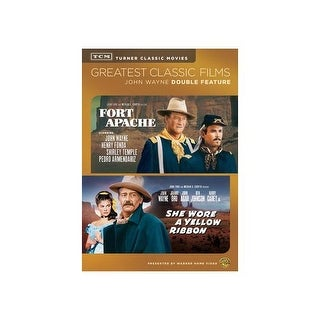 TCM-FORT APACHE/SHE WORE A YELLOW RIBBON (DVD/DBFE)