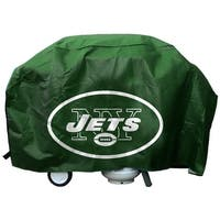 New York Jets Grill Cover Deluxe
