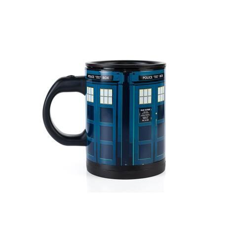 Doctor Who TARDIS 12oz Self-Stirring Coffee Mug