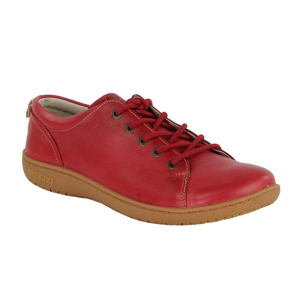 9a29dcede7f Shop Birkenstock Women s Islay Leather Shoes - Red - 37 - Free Shipping  Today - Overstock - 24257687