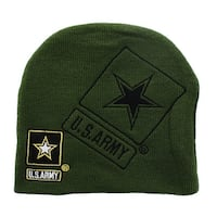 U.S. Army Official Licensee Green Beanie - multi