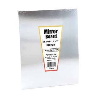 Mirror Board 5 X 7In 25Shts