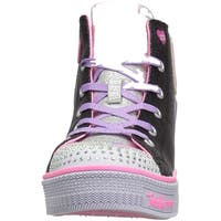 Skechers Kids' Twinkle Lite-Peace Princess Sneaker