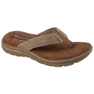 Skechers 64152 TAN Men's SUPREME-BOSNIA Sandal