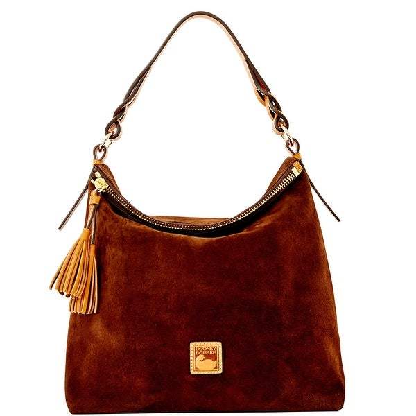Dooney & Bourke Suede Sloan (Introduced by Dooney & Bourke at $298 in Aug 2015) - brown tmoro
