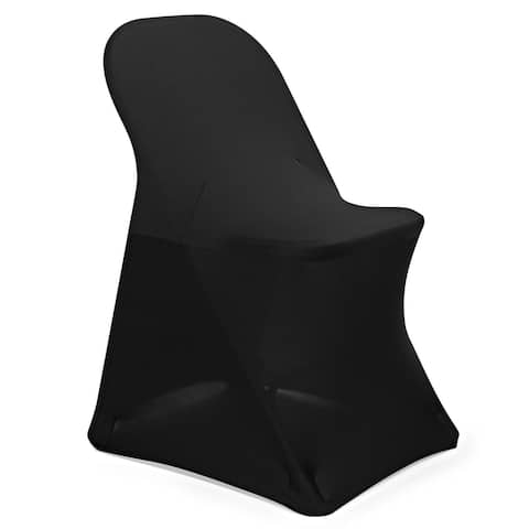 100-Count Spandex Folding Chair Covers for Wedding, Party and Banquet