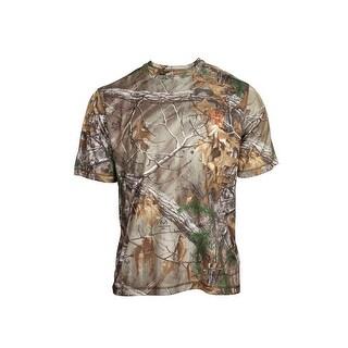 Rocky Outdoor Shirt Mens Short Sleeve Camo Realtree Xtra HW00186