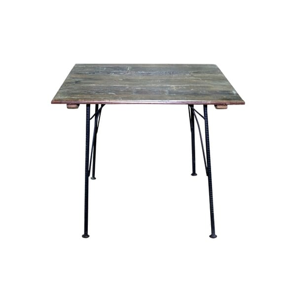 Moes Home Collection Bx 1024 Saria 30 Inch Tall Reclaimed Wood Bistro Table With
