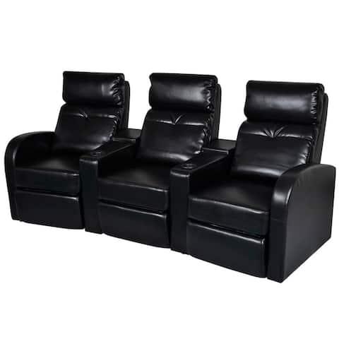 vidaXL Tub Chair Brown Faux Leather