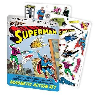 Superman Magnetic Action Set, 2 Sheets - Multi