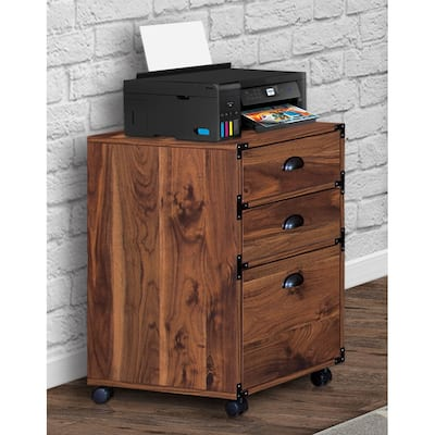 Brunei-3 Drawers Mobile Filing Cabinets