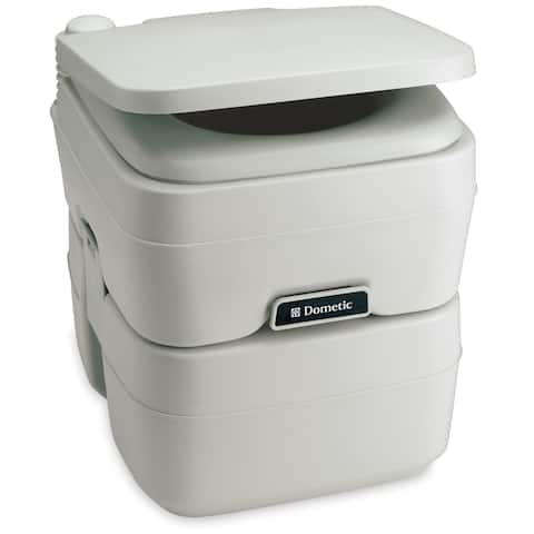 Dometic corporation dometic 965 msd portable toilet 5.0 gallon platinum 311196506