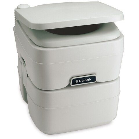 Dometic corporation dometic 965 portable toilet 5.0 gallon platinum 311096506