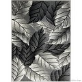 """Allstar Grey Area Rug. Contemporary. Abstract. Traditional. Geometric. Formal. Shapes. Squares (5' 2"""" x 7' 1"""") - Thumbnail 6"""