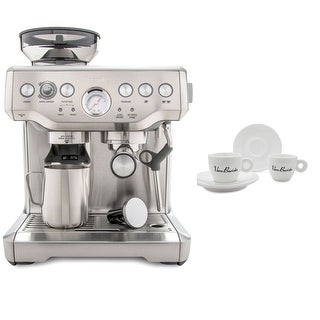 Link to Breville BES870XL Barista Express Espresso Machine Includes 4 Espresso Cups Similar Items in Kitchen Appliances