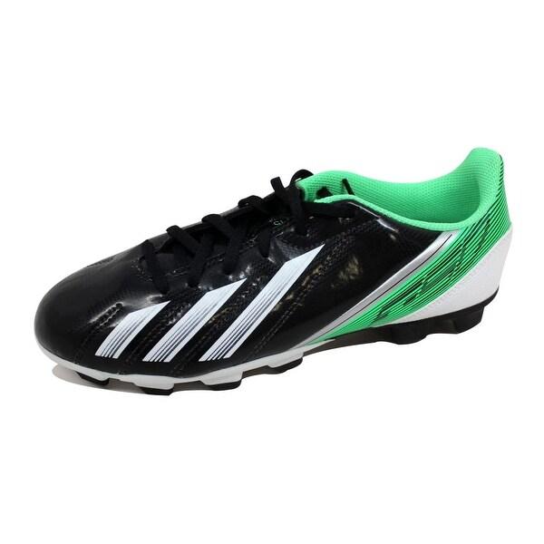 the latest 714f2 90a52 Adidas Grade-School F5 TRX FG J BlackWhite-Green G65430 Size 5.5