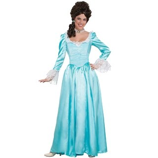 Forum Novelties Blue Colonial Lady Adult Costume (X-Large) - X-Large