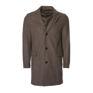 Men's 3/4 Wool- Blend Coat