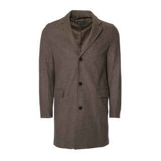 Men's 3/4 Wool- Blend Coat