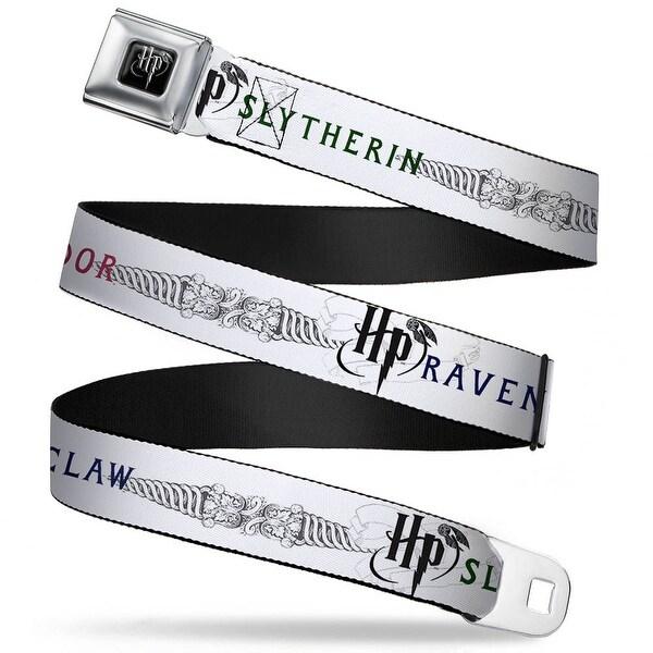 Harry Potter Logo Full Color Black White Harry Potter Gryffindor Ravenclaw Seatbelt Belt