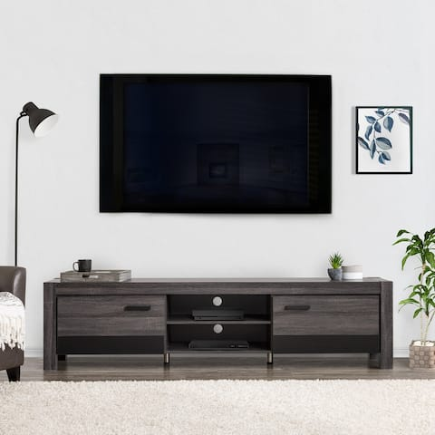 """CorLiving Joliet Duotone TV Bench for TVs up to 95"""""""