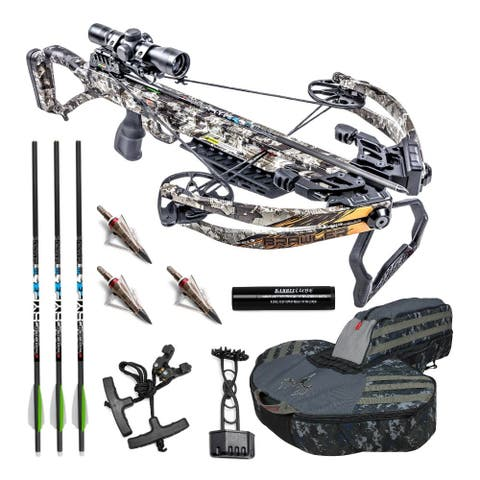 Killer Instinct Brawler 400 FPS Crossbow Kit with Case and Broadheads