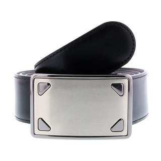 HS Collection HSB 8001 Black/Brown Reversible/Adjustable Mens Belt