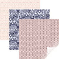 "Cricut 12""X12"" Patterned Premium Vinyl Sampler 6/Pkg-Chantilly"