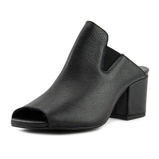 Sixtyseven 78497 Women Black Mule Slides