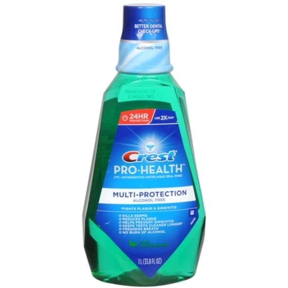 Crest Pro-Health Oral Rinse Cool Wintergreen 1000 mL