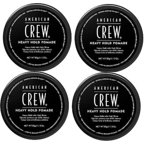 American Crew Heavy Hold Pomade 3 Ounce Pack of 4