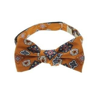 Tommy Bahama Mens Tropic Medallion Silk Floral Print Bow Tie - o/s