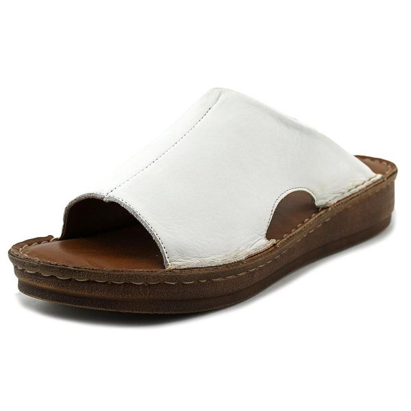 Bella Vita Mae-Italy Women White Sandals
