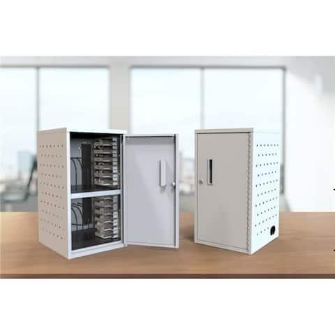 Luxor LLTMWV12-G 12 Tablet Vertical Wall & Desk Charging Box