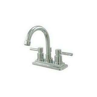 "Elements Of Design ES8661DL Twin Lever Handles 4"" Centerset Bathroom Faucet"