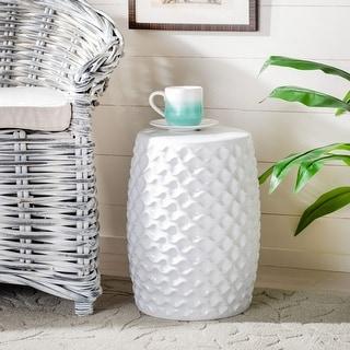 Link to Safavieh Randon Indoor / Outdoor Ceramic Decorative Garden Stool Similar Items in Outdoor Decor