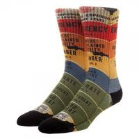 Fantastic Beasts And Where To Find Them Threat Level Crew Socks - Black
