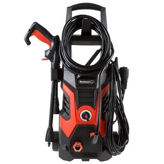 1500 PSI Electric Powered Pressure Washer by , Red & Black