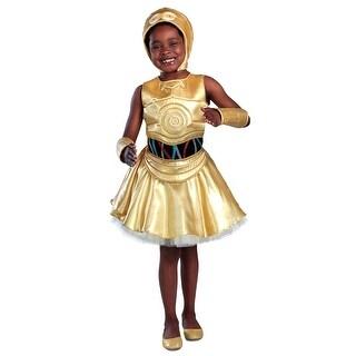 Girls Star Wars C-3PO Dress