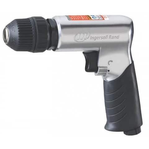 "Ingersoll-Rand 7811G Reversible Air Drill, 3/8"", 5 HP"
