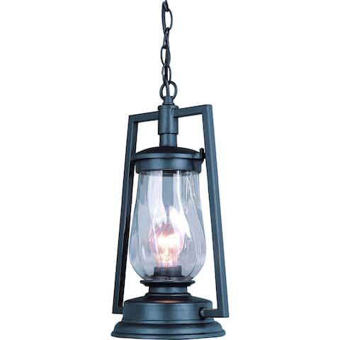 Volume Lighting 1-Light Indoor/Outdoor Antique Bronze Pendant - N/A